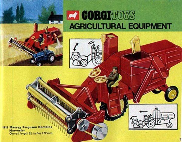 p37 catalogue corgi 1967