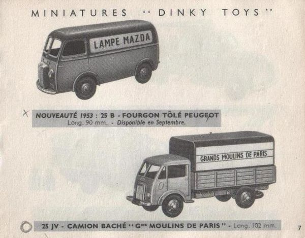 catalogue dinky toys 1953 fabrication meccano car. Black Bedroom Furniture Sets. Home Design Ideas