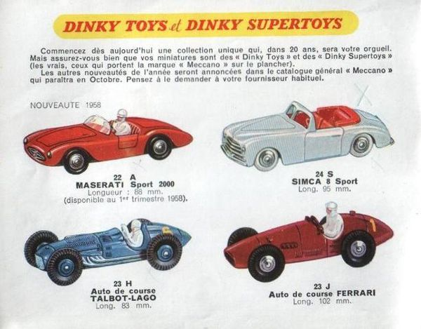 catalogue dinky toys automne 1958 p2