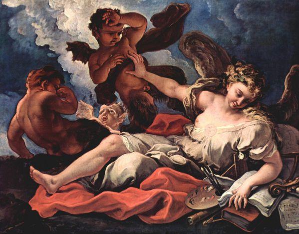 Sebastiano Ricci alégorie des arts