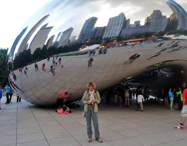 Chicago Cloud Gate Martine