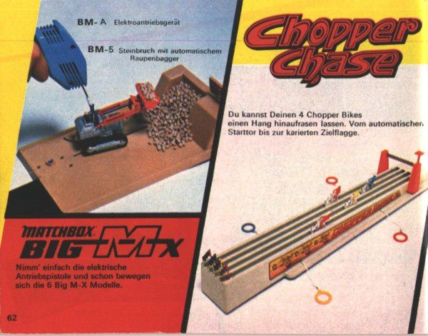 catalogue matchbox 1974-1975 p62 chopper chase