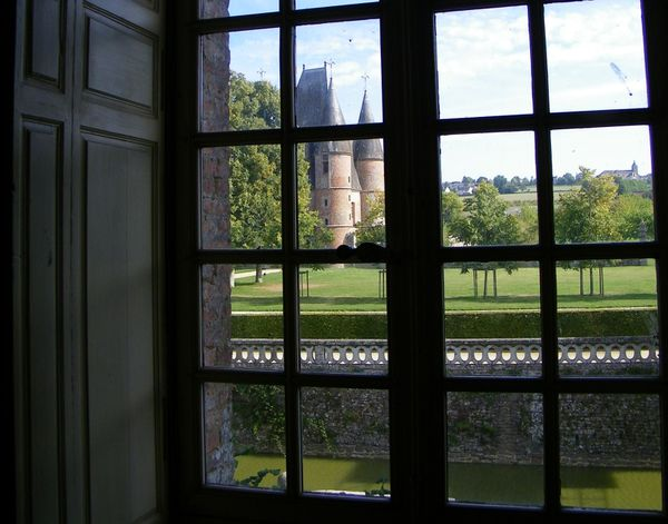 206 View from the North Salon, Château de Carrouges