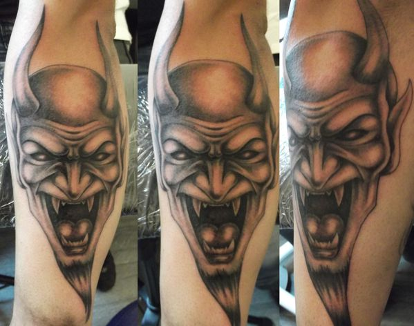 tatouage demon david photo