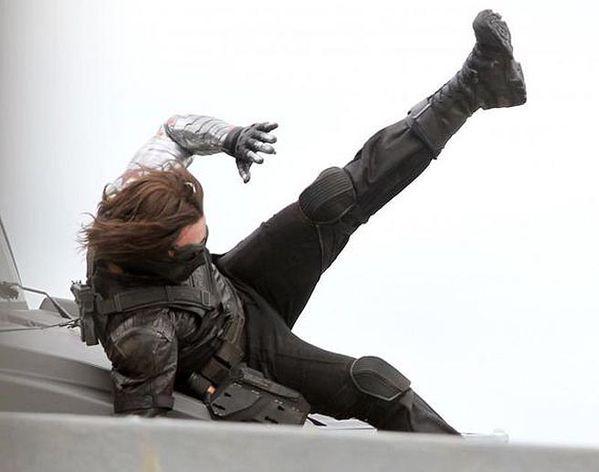 Captain America 2 Le Soldat de l'Hiver - Photo Tournage 06