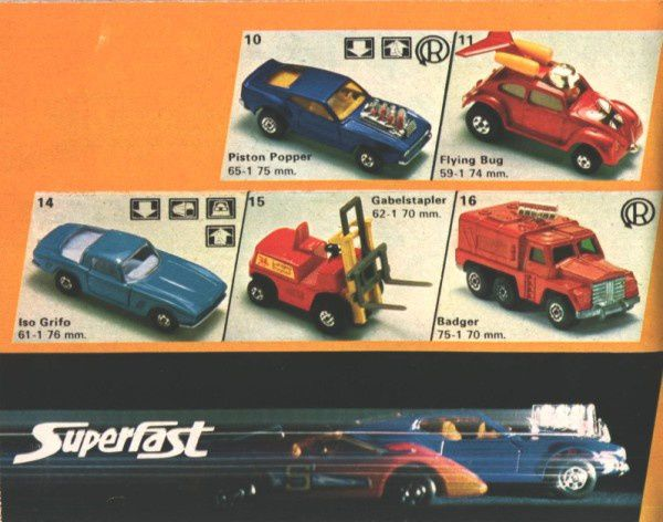 catalogue matchbox 1974-1975 p16 piston popper badger