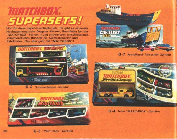 catalogue matchbox 1974-1975 p60 car ferry
