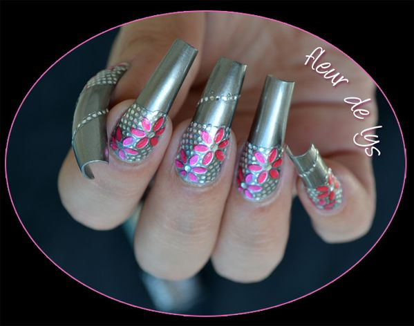 Nail Art patch ongles