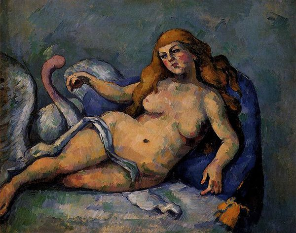 Leda d'après Paul Cezanne NET