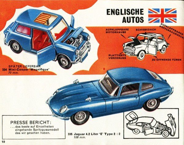 catalogue corgi 1969 p10