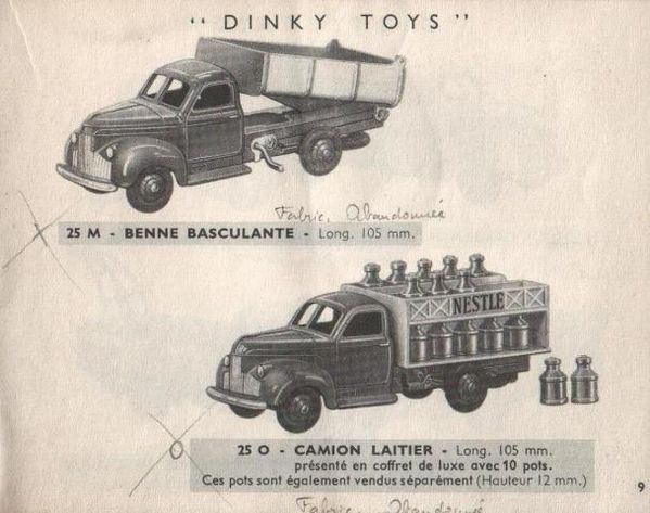 catalogue-dinky-toys-1954-p9-benne-basculante-camion-laitie