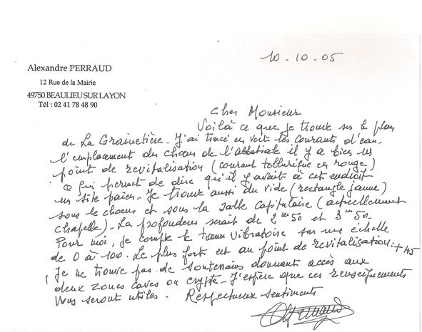 courrier A. Perraud