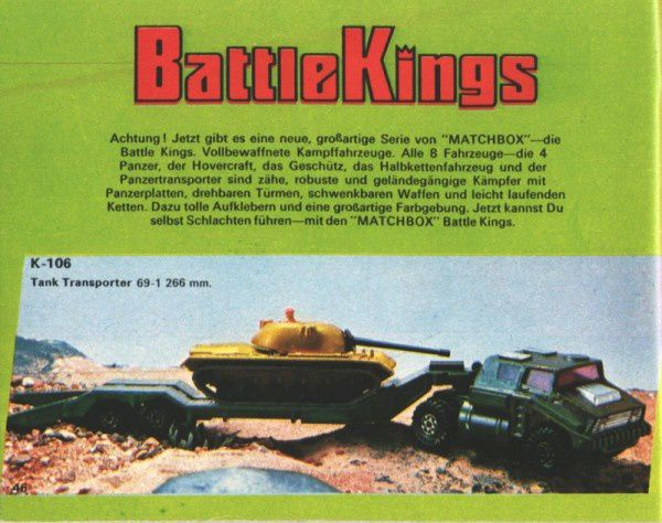 catalogue matchbox 1974-1975 p46 battle kings