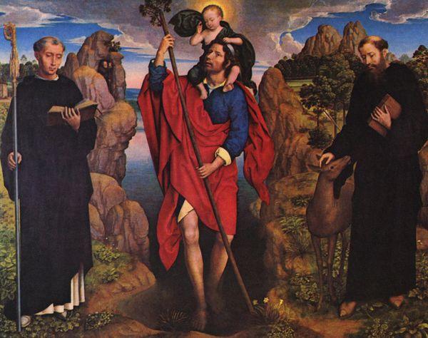 Memling trois saints