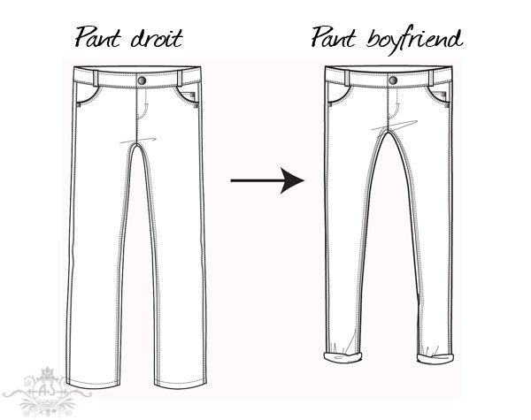 DIY boyfriend