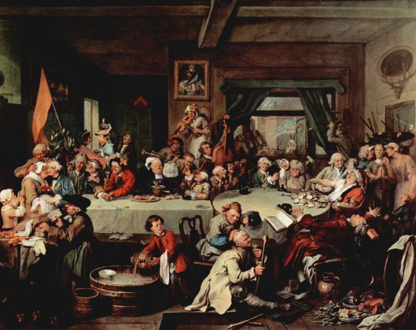 HOGARTH Le Banquet - Soane's Museum - London