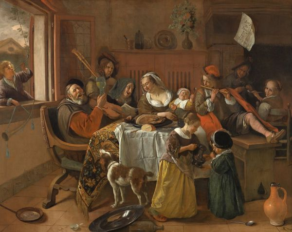 Steen. The merry family. 1668