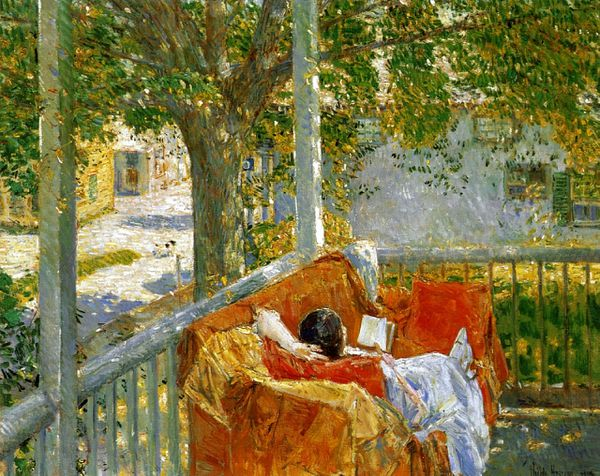 Child Hassam couch-on-the-porch-cos-cob