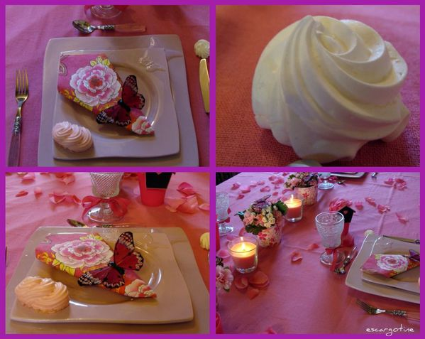 collage table rose 8