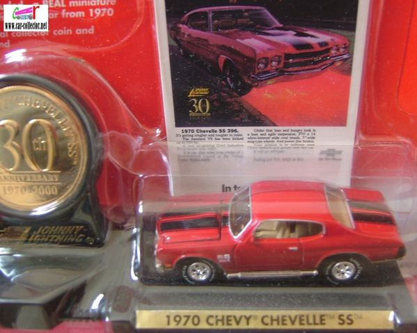 chevy chevelle ss 1970 30th anniversary johnny lightning