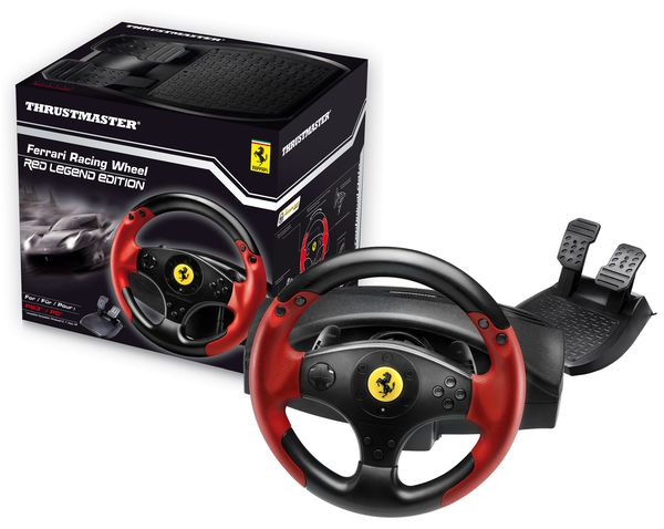 thrustmaster d voile son nouveau volant ps3 et pc sous licence ferrari mega games le. Black Bedroom Furniture Sets. Home Design Ideas
