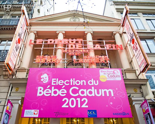 Election Bebe Cadum 2012 au Theatre des varietes Paris - ph