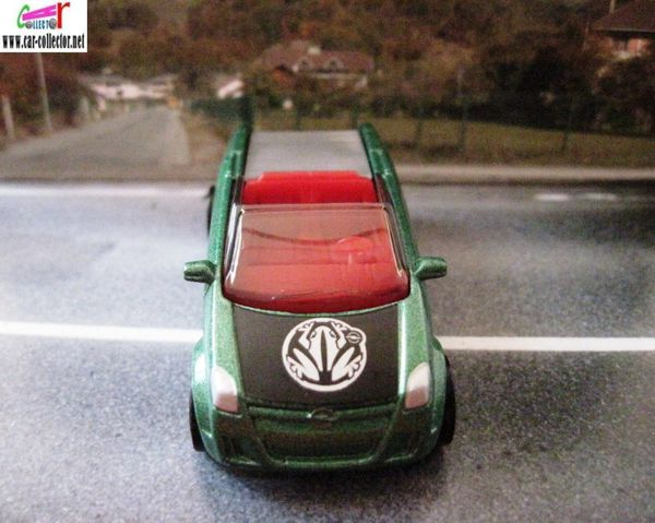 opel frogster matchbox voiture cabriolet convertible (3)