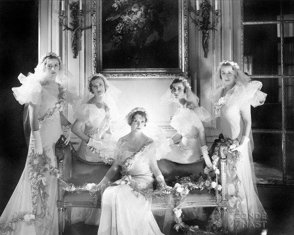 Cecil Beaton from left Lady Violet Pakenham, Baba Beaton,