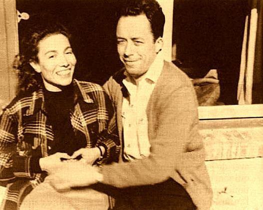 Camus et Francine Faure-copie-1