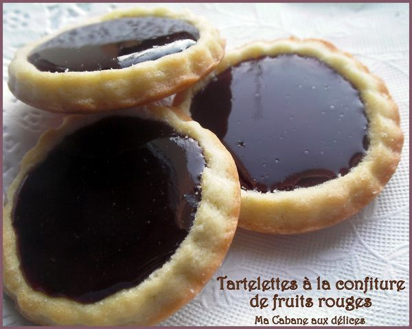 Tartelette confiture fruits rouges photo 3