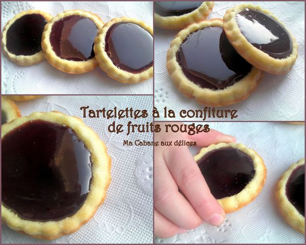 Tartelette confiture fruits rouges photo 4
