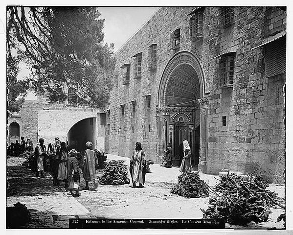 Entrance to the Armenian Convent, 1898