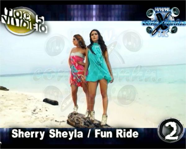 Conexion HN Top 5 Video Sherry sheyla Fun Ride