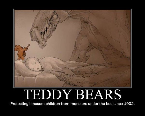 Teddy Bears - Protecting Innocent Children From Monsters Un