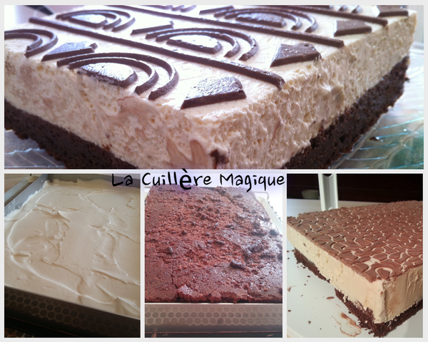 Mousse de Bailey's et son biscuit fondant au chocolat 31032013