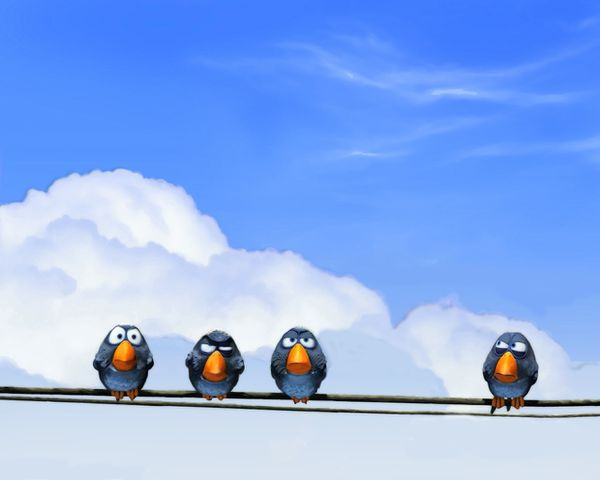 for the birds pixar by revolutionapparel