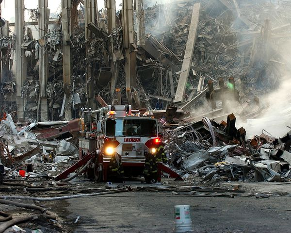World Trade Center - firefighters - FDNY - 17-09-2001