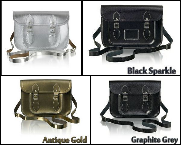 The Cambridge Satchel Company - glitter - argenté