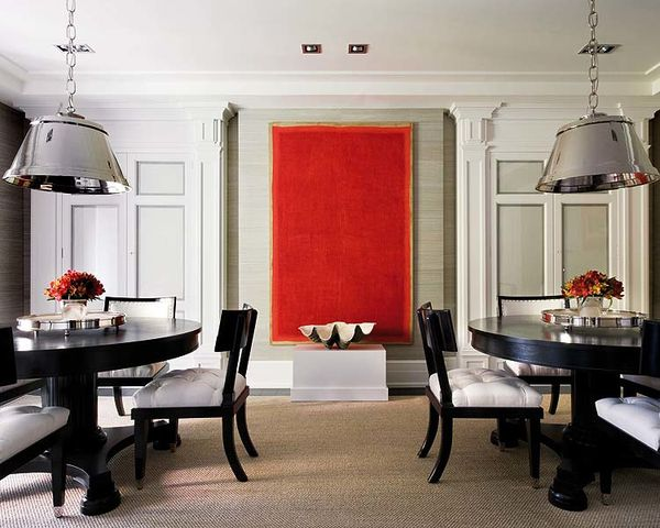 dining-room-decorating-ideas-art-painting-red-abstract-clas