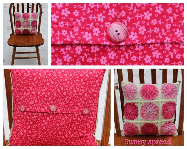 montage coussin sunny