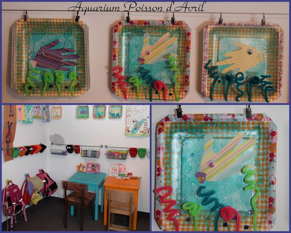 montage aquarium poisson