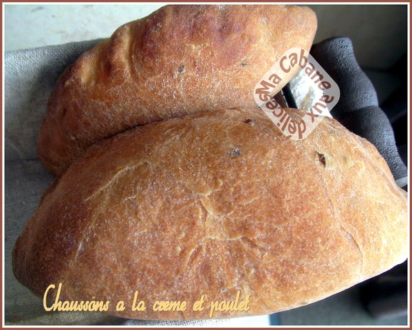 Chaussons crème et poulet 006