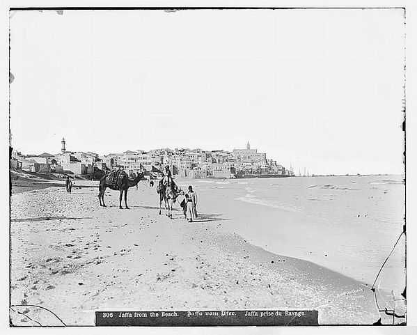 Jaffa from the north beach between 1898 and 1914