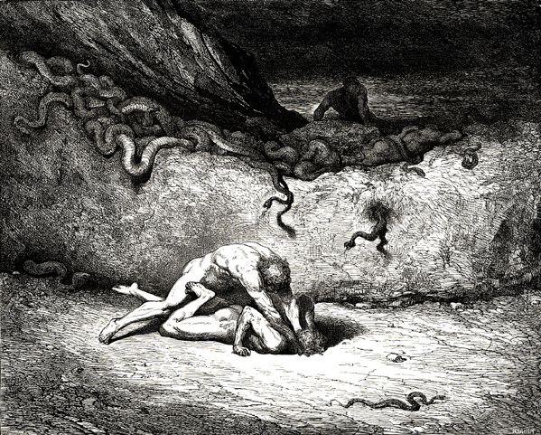 Gustave dore l'enfer de dante hell (6)