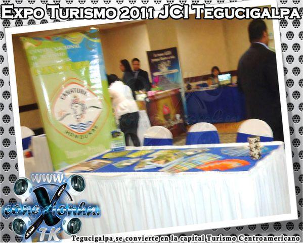 Expo Turismo 2011 JCI Tegucigalpa Canaturh Honduras