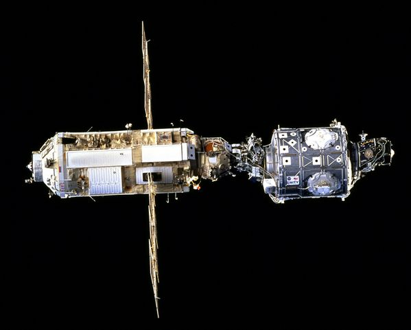 ISS - Zarya and Unity - STS-88 - 1998