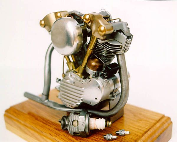how to build a 2 stroke engine