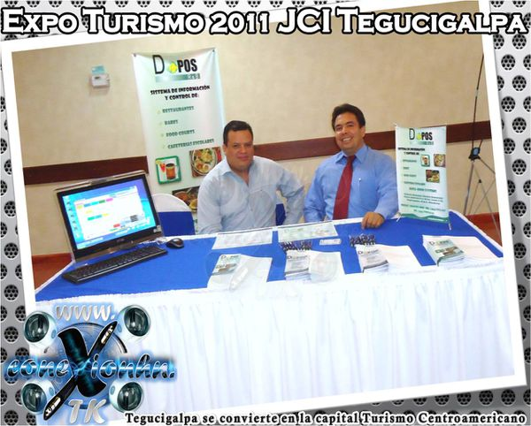 Expo Turismo 2011 JCI Tegucigalpa Data + open systems