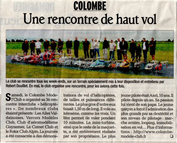 Sympo Colombe 2011