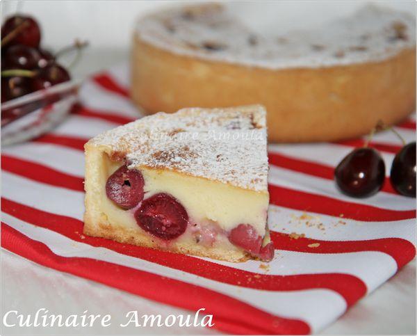 tarte clafoutis aux griottes 4